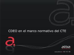 Diapositiva 1 - Colegio Oficial de Aparejadores y Arquitectos