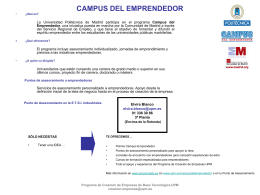 CAMPUS DEL EMPRENDEDOR - Indusnet