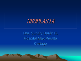NEOPLASIAS - WordPress.com