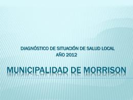 Año 2012 - Municipalidad de Morrison