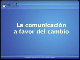 Comunicación para el cambio