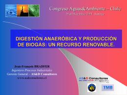 Digestión Anaeróbica y Biogás: Energía