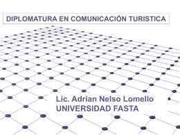 Diplomatura Fasta - Adrian Lomello