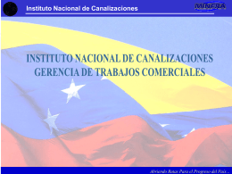 Instituto Nacional de Canalizaciones Abriendo Rutas Para el
