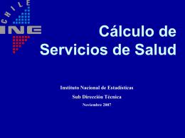 salud - Instituto Nacional de Estadísticas