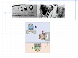 PPT 7: La influencia social Milgram Zimbardo