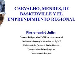 Emprendimiento Regional - Universidad de La Rioja