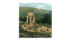 Templo de los Oráculos, Delfos