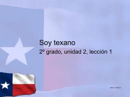 Soy texano