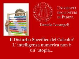 L`intelligenza numerica non è un`utopia