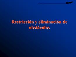 Limitación de obstáculos