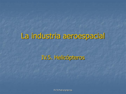 La industria aeroespacial