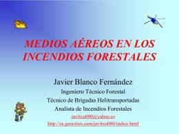 Ingeniero Técnico Forestal Javier Blanco Fernández