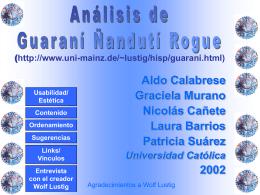 Guarani Ñanduti Rogue