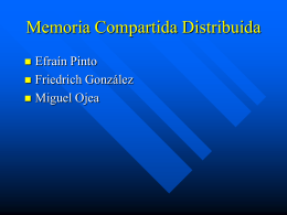 Memoria Compartida Distribuida con Base en Páginas