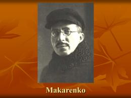 Makarenko - teoriaseinstituciones