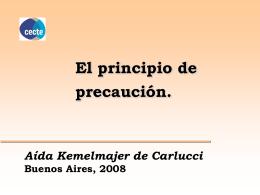 Aída Kemelmajer - CECTE: Comité Nacional de Ética en la Ciencia