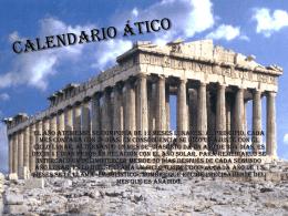 CALENDARIO ático