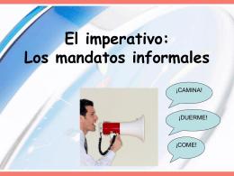 mandatos informalesSP3H