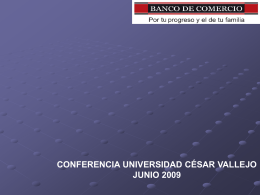 Crisis Financiera Internacional - UCV