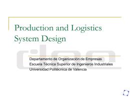 PowerPoint Presentation - Universidad Politécnica de Valencia