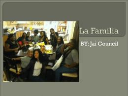 La Familia - jaicouncil