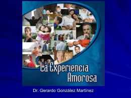 LA EXPERIENCIA AMOROSA - Seminario de Antropología