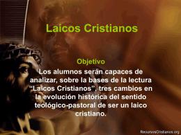 "Powerpoint ""Laicos Cristianos"""
