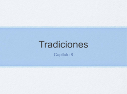 Tradiciones - Personal.psu.edu