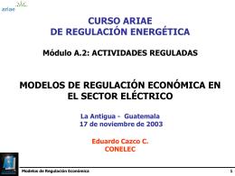 métodos de regulación económica