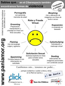 Formas de violencia en el ciberespacio.