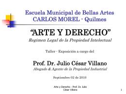 Presentación - Estudio Villano