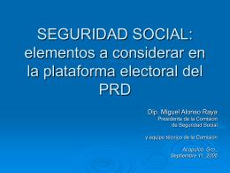 Seguridad Social: propuestas