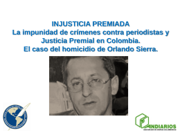Injusticia Premiada