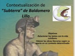 8°B Clase contextual Subterra
