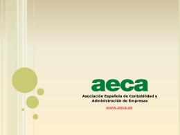 PPT - Aeca - Asociación Española de Contabilidad y Administración