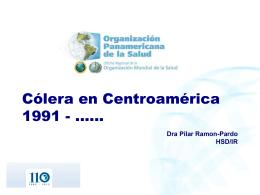 Cólera en Centroamérica