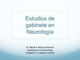 Neurología y gabinete