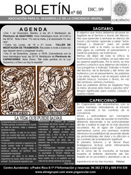 Boletín 66 - Alma Grupal. Página Principal.