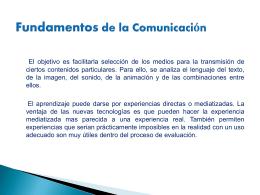 Fundamentos de la comunicacion 2