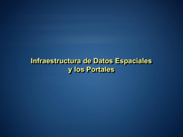 Introducción GIS Portal Toolkit