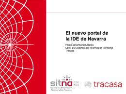 El nuevo portal de IDENA - PCyP SITNA