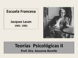 Jacques Lacan - WordPress.com