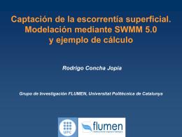 Elementos de un sistema de drenaje superficial en SWMM 5.0