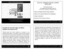 Descargar PowerPoint - Centro de Espiritualidad Apostólica San