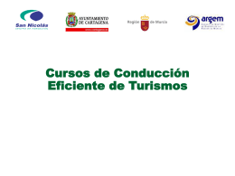 Power point sobre el curso de conducción ecoeficiente