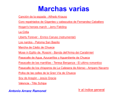 marchas varias