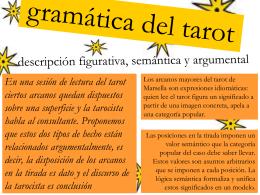 Presentación ppt de la Gramática del tarot
