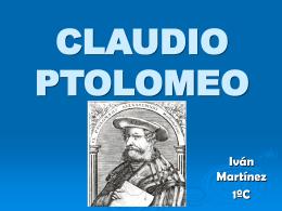 CLAUDIO PTOLOMEO - el blog de mate de aida