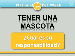 Slide 1 - National Pet Week